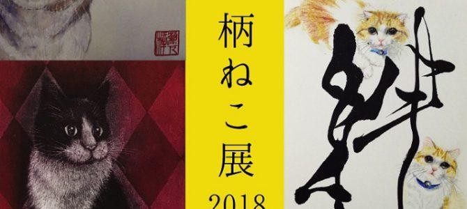 柄ねこ展 2018